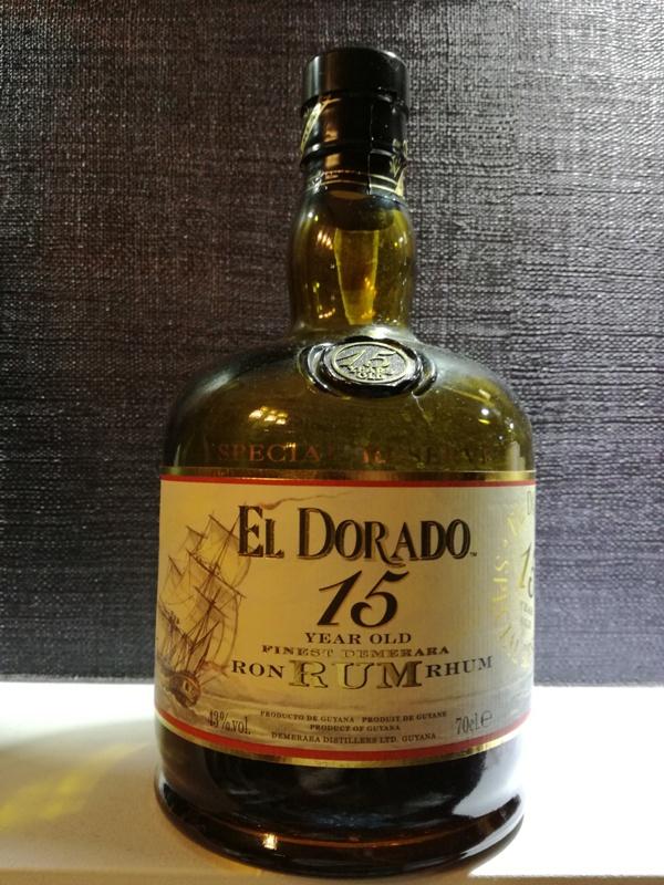 Rum El Dorado 15, fot. własna