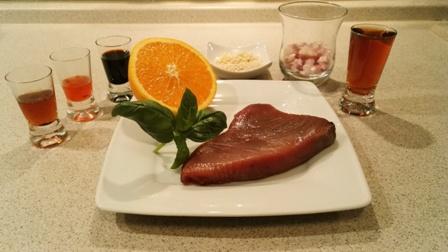 Ahi Tuna Poke - składniki