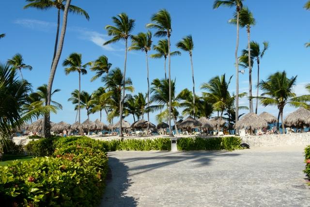 Plaża na Punta Cana