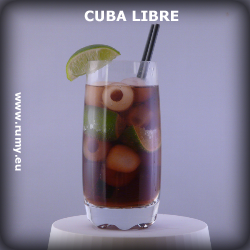 Cuba Libre drink foto