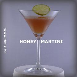 Honey Martini drink