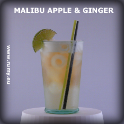 Drink Malibu Apple and Ginger