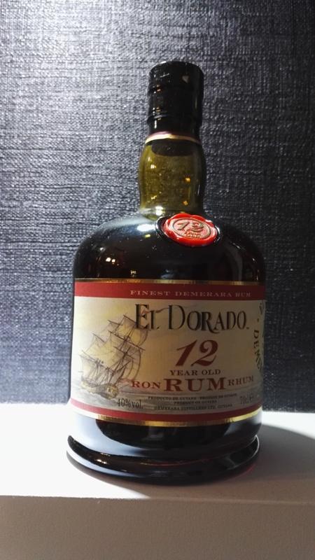 Rum El Dorado 12