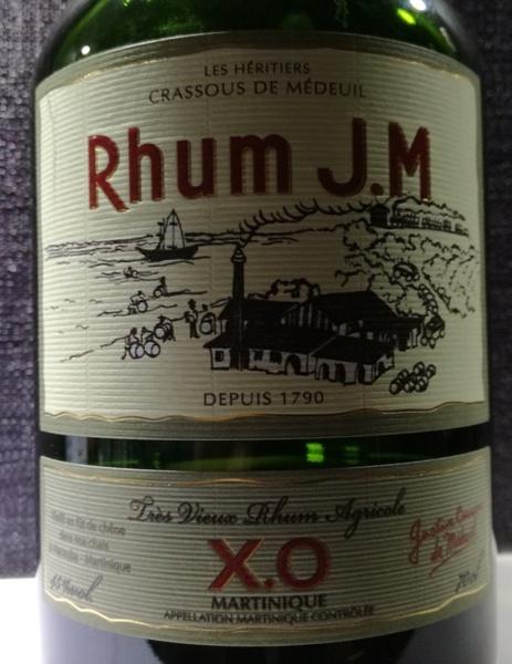 JM Rhum XO