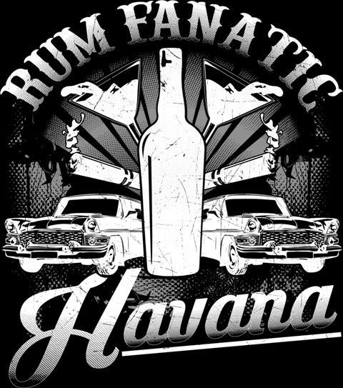 Koszulka Rum Fanatic - Hawana