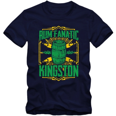 Koszulka Rum Fanatic - Kingston
