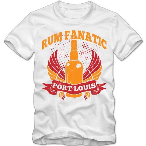 Koszulka Rum Fanatic - Port Louis