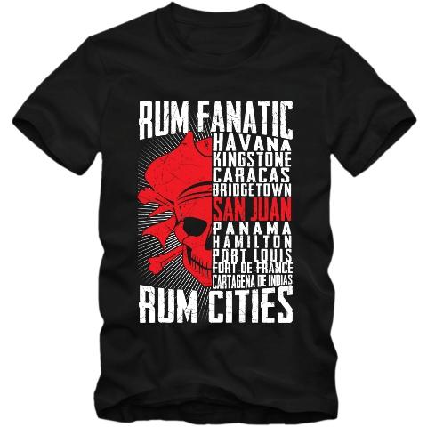 Koszulka Rum Fanatic - San Juan