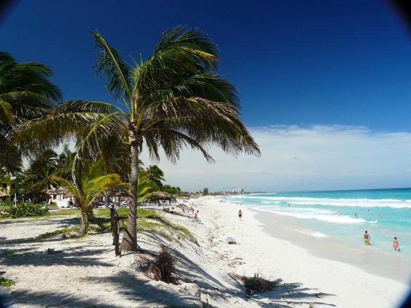 Plaża na Kubie