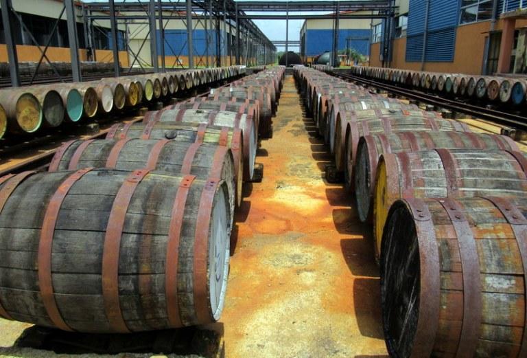Beczki rumowe