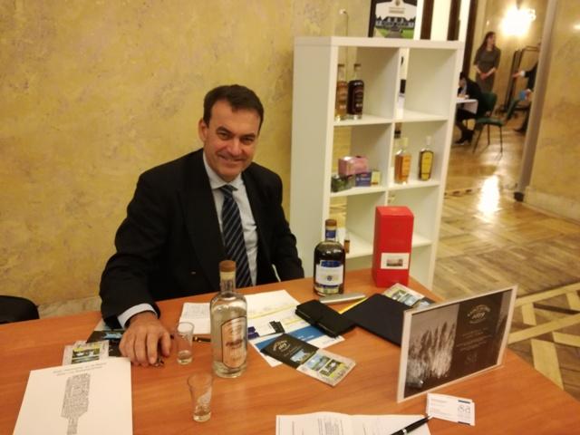 Patrick Guimbeau, Executive Chairman, rhum St. Aubin, fot. własna