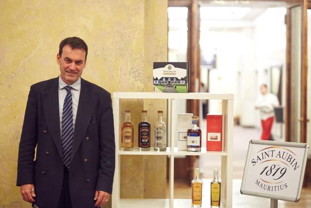Patrick Guimbeau, Executive Chairman, rhum St. Aubin, fot. Piotr Bramora (www.piotrbramora.pl)