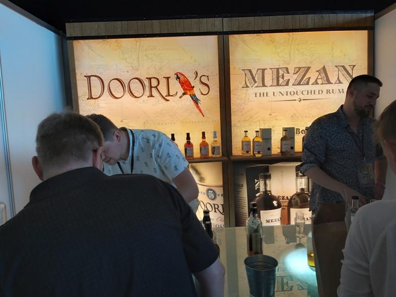 Stanowisko rumowe Foursquare, Doorly's, Mezan