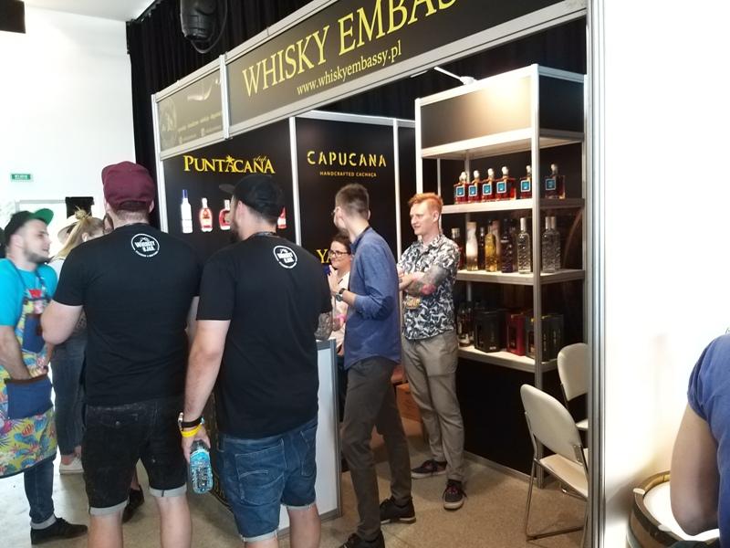 Stoisko Whisky Embassy