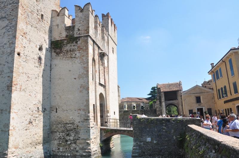 Sirmione - widok na Castello