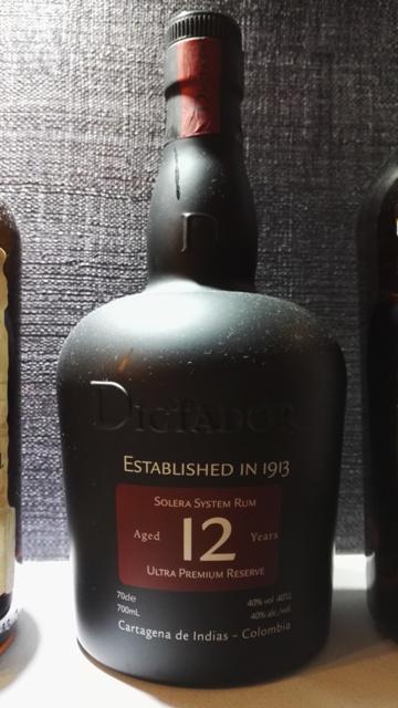 Rum Dictador 12