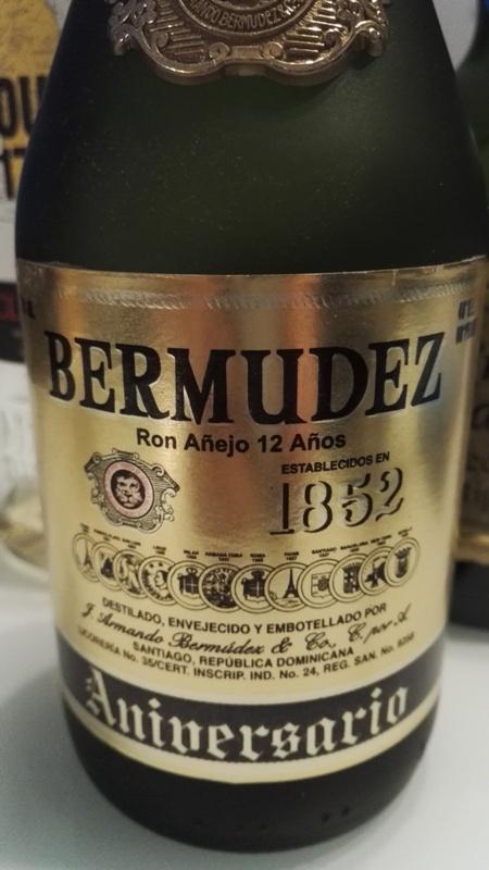Rum Bermudez 12 Aniversario 1852