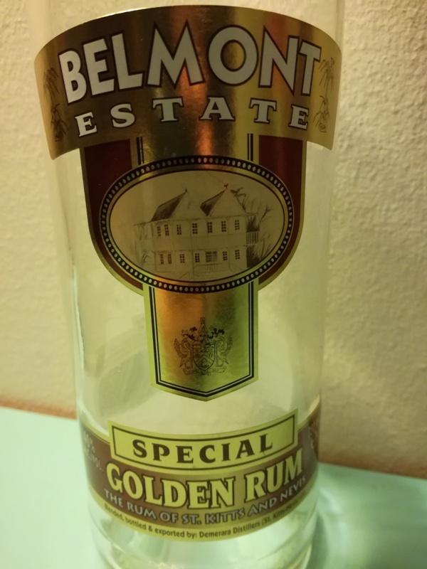 Rum Belmont Estate Golden Rum