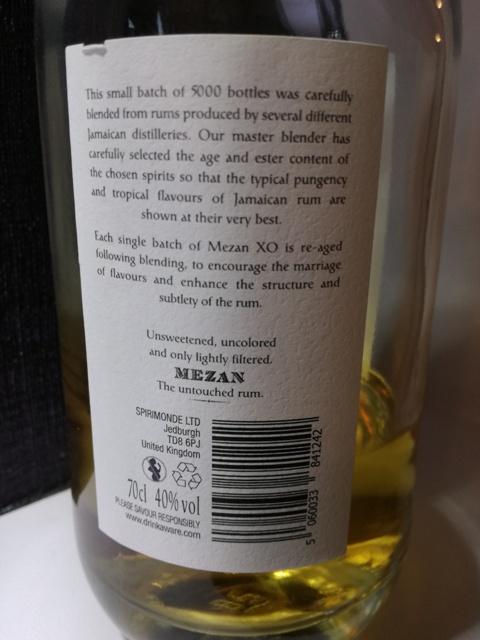 Rum Mezan XO Jamaica