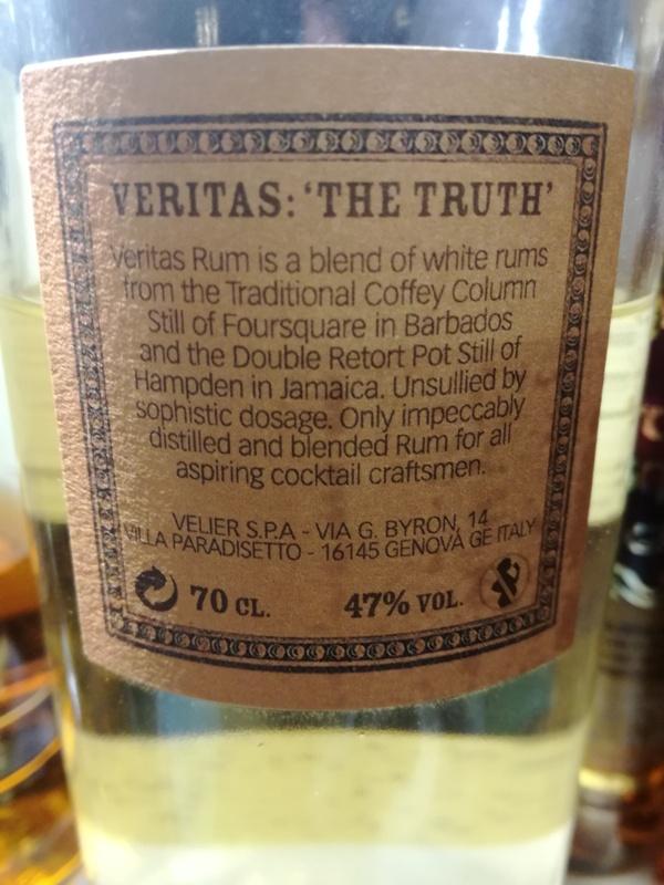 Rum Veritas, kontretykieta, fot. własna