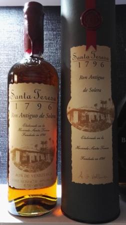 Rum Santa Teresa 1796 Antiguo de Solera - Wenezuela