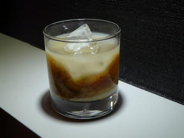 White Russian z rumem